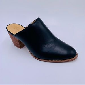 Madewell shoes Harper mules in true black size 8